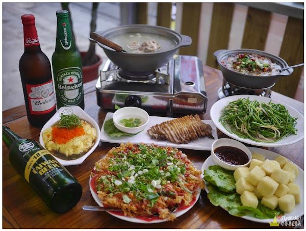 龍來熱炒-平價快炒推薦~特色的魚汁滑蛋&蜂巢蚵料理~還有70元的外帶炒飯小吃!