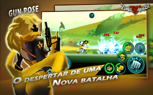 Zombie Avengers:(Dreamsky)Stickman War Z-zumbi Screenshot