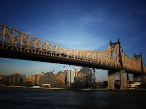 """Photo: The """"Ed Koch Queensboro Bridge"""" also known as the 59th Street Bridge.   Midtown, New York City.   View the writing that accompanies this post here at this link on Google Plus:  https://plus.google.com/108527329601014444443/posts/T79KqE5kDpj  View more New York City photography by Vivienne Gucwa here:  http://nythroughthelens.com/"""