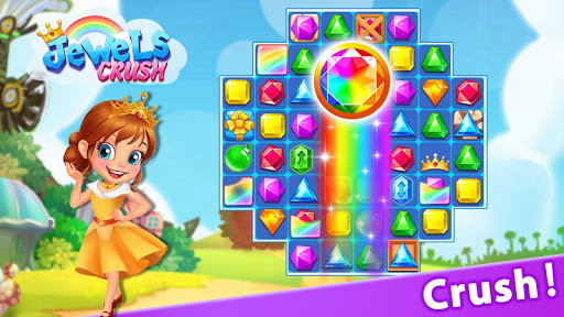 Jewel Crush™ - Jewels & Gems Match 3 Legend 3.0.0 screenshots 2