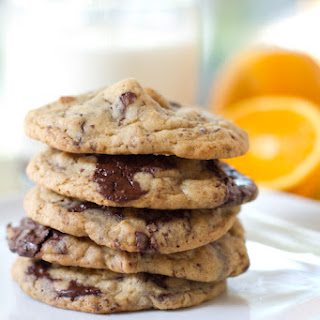 Chocolate Chip Cookies with an Orange Twist