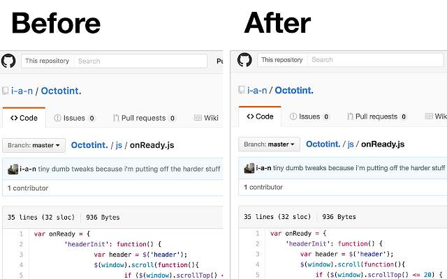 GitHub Style Override