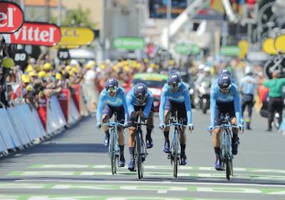 Movistar contracteert twee renners die op het podium van de Baby Giro stonden