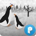 Cute Penguins Launcher Theme icon