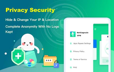 NetCapsule VPN | Free VPN Proxy, Fast VPN, Unblock 10