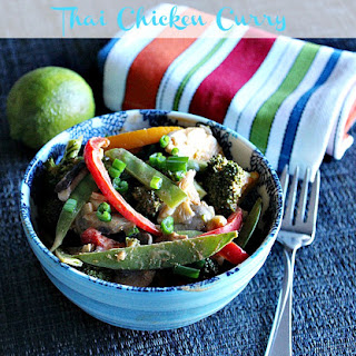 Better Than Take-out Thai Curry Chicken