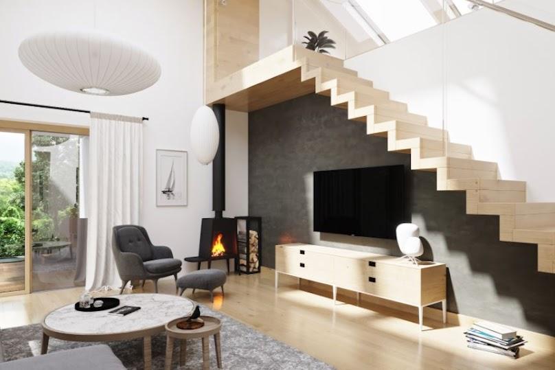 Minimalistyczne rozwiązania są bardzo modne w nowoczesnych domach