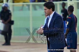 Photo: Coach McKinstry [Rwanda Vs Libya World Cup 2018 Qualifier, 17 Nov 2015 in Kigali, Rwanda.  Photo © Darren McKinstry 2015, www.XtraTimeSports.net]