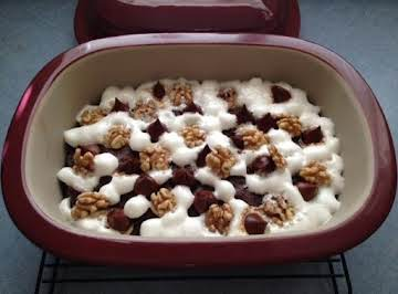 PC's Microwave Rocky Road Brownie Dessert