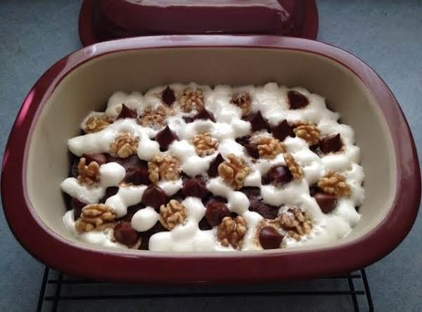 Pc's Microwave Rocky Road Brownie Dessert Recipe