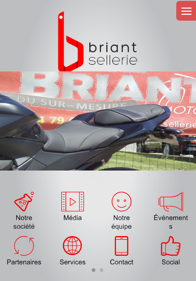 Sellerie BRIANT- screenshot