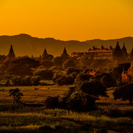 Bagan by Stanley P. - Landscapes Travel