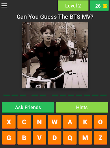 Guess The BTS's MV by JUNGKOOK Pictures Quiz Game 3.4.6z screenshots 18