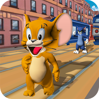 Subway Tom Run & Epic Jerry Escape