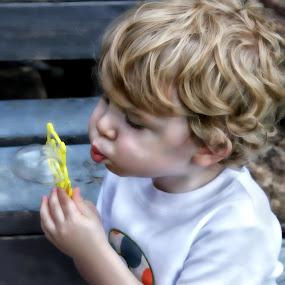 Bubble love by Sherrie Erickson Dunford - Babies & Children Child Portraits (  )