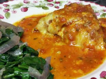 Baked Chicken Parmesan by Susan
