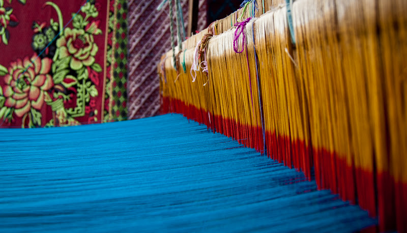 Photo: The Weaver of Colors