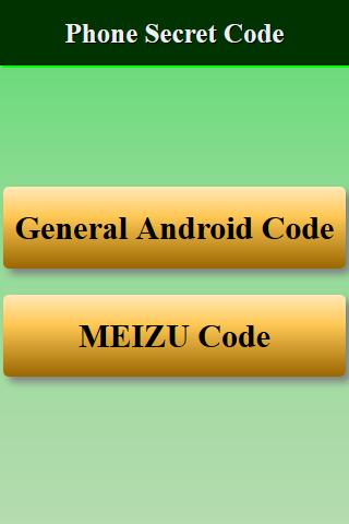 Mobiles Secret Codes of MEIZU 1.0.0 screenshots 2