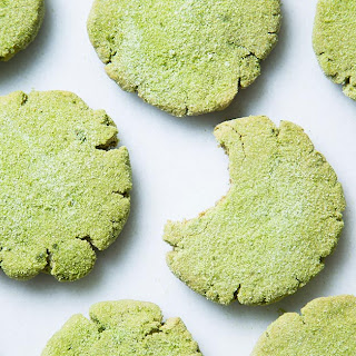 Matcha Gingerbread Cookies.