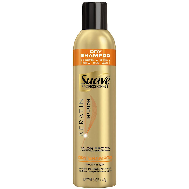 Suave Professionals Keratin Infusion Dry Shampoo, 5 Ounce by Supermodels Secrets