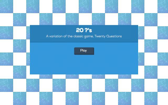 Twenty ?'s