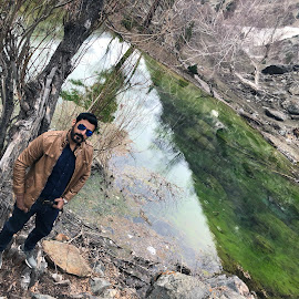 Reflections.. by Waqar Afzal - People Portraits of Men ( #hunza#gilgit#baltistan#mountain#nature#naltar#valley )