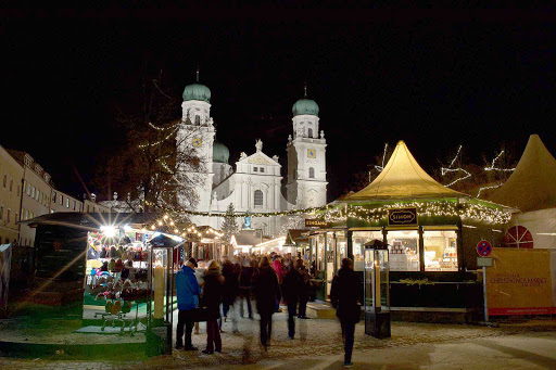 Germany-Passau-Christkindlmarkt - The Passau Christmas Market, or Passau Christkindlmarkt, is set in the old historic town center of Passau.