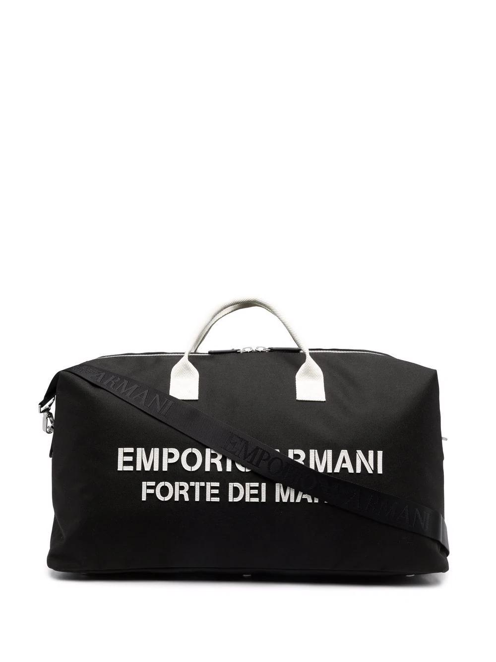 6. EMPORIO ARMANI : Saint Tropez logo holdall
