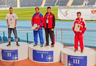 Photo: Finał Ogólnopolskiej Olimpiady Młodzieży (lipiec 2013) absolwent PG 20 - M.Pierko złoty medal złoty medal