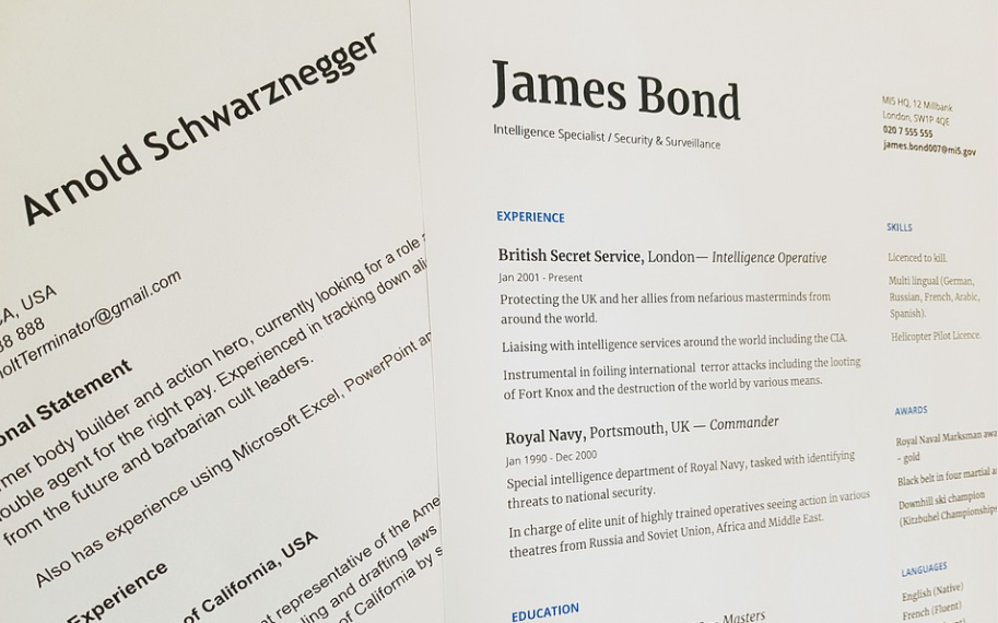 4 Great Benefits of Using a Template to Create Your Next Resume 3