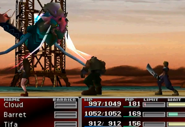 Photo: Final Fantasy VII - http://on.mash.to/QcuPJs