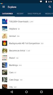 Backgrounds HD (Wallpapers) - screenshot thumbnail