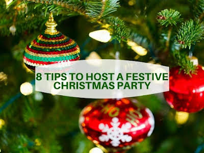 8 Tips to Host a Festive Christmas Party