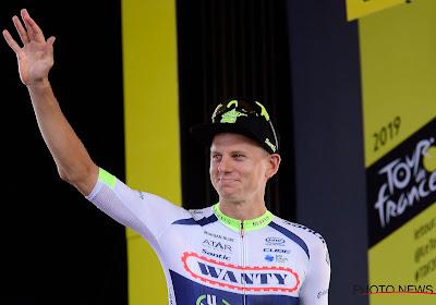 """Jonge Belg ontvangt prijs voor de strijdlust: """"Leuk om in mijn eerste Tour op het podium te staan"""""""