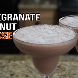 Delicious Pomegranate Coconut Mousse