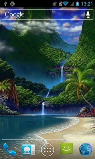 Paradise island Live WP
