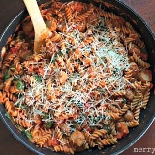Creamy Italian Sausage Pasta Skillet Recipe