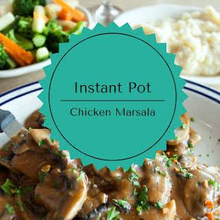Instant Pot-Chicken Marsala.