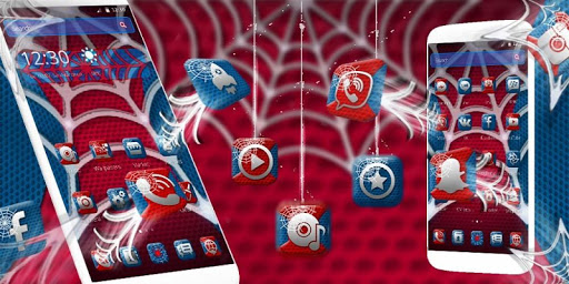 Spider Hero Theme app (apk) free download for Android/PC/Windows screenshot