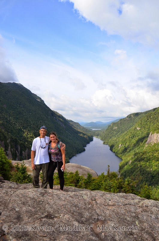 Photo: Mike and Kim on Indian Head.