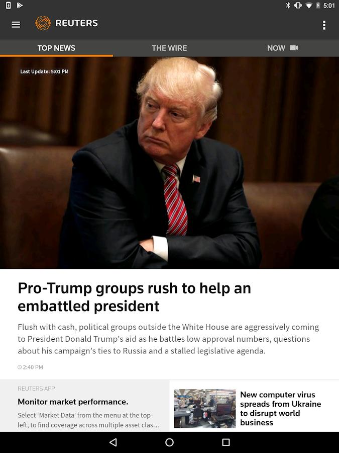 News Reuters