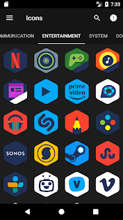 Android下載免費的Orini - Icon Pack 应用 screenshot