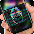 Cool Pug dog keyboard icon