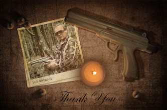 "Photo: Ashley ""The Hidden Hedgehog"" Slingsby made this touching tribute to the father of paintball, Bob Gurnsey. You did an amazing thing when you created paintball Bob and we will be eternally grateful. We will mourn your passing and try to live up to your expectations for the game."