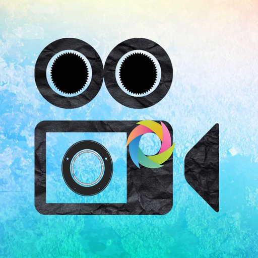 Video Effects & Filters,Camera Trippy Digital Art Icon