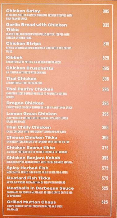 Life Caffe menu 13