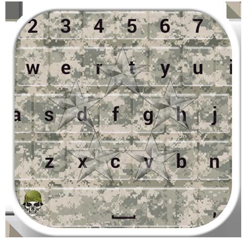 Army Emoji Keyboard Themes