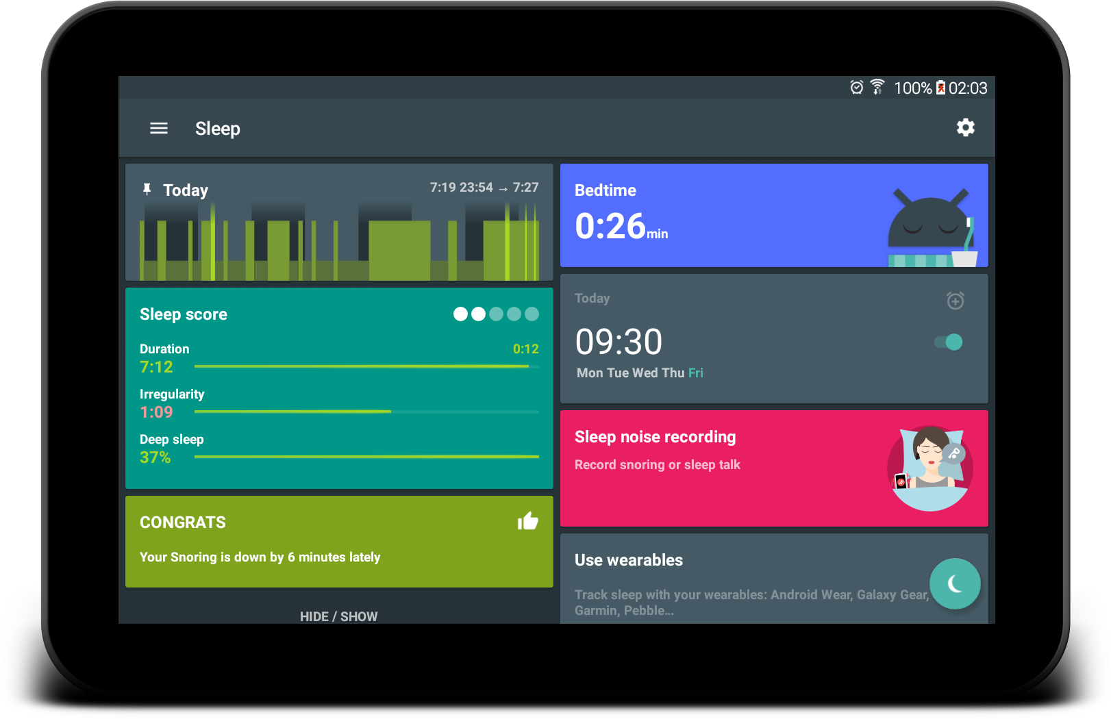 Sleep as Android Unlock screenshot #15