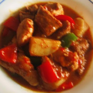 Chicken And Pork Stew ( Afritada )