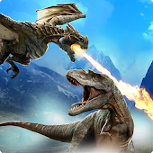 Dragon vs Dinosaur Hunter: Dinosaur Games